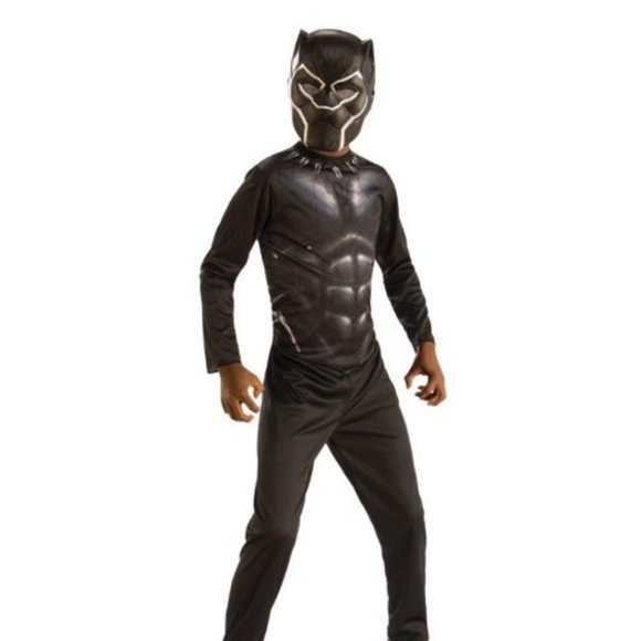 Kids Black Panther costum with Mask